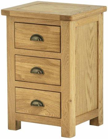Hartford Oak Bedside Cabinet