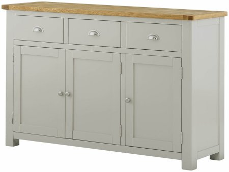 Portland Painted 3 Door Sideboard