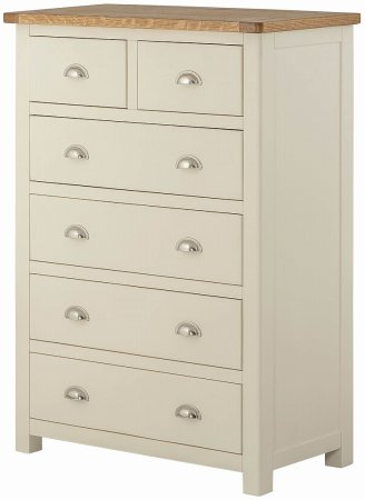 Portland Painted 4+2 Chest of Drawers