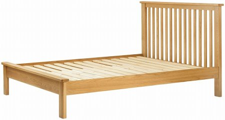 Portland Oak 135cm Double Bed Frame