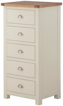 Hartford Painted 5 Drawer Wellington Chest