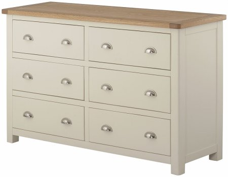 Portland Painted 6 Drawer Chest