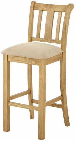 Hartford Oak Bar Stool