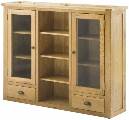 Hartford Oak 3 Door Dresser Top