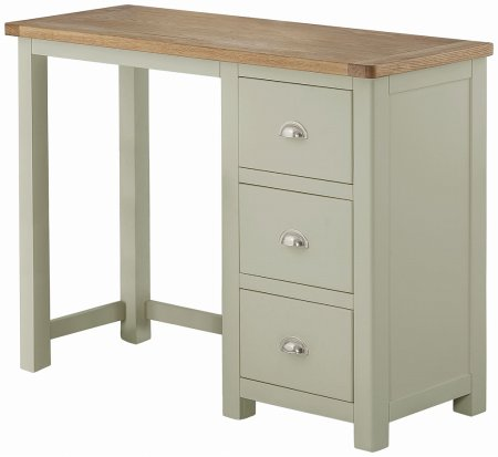 Portland Painted Single Pedestal Desk