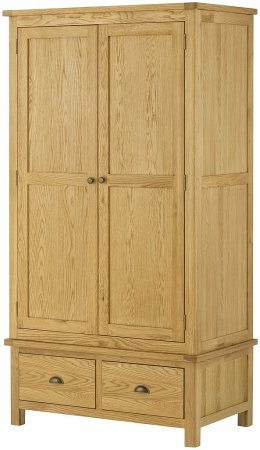 Hartford Oak Gents Wardrobe