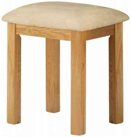 Portland Oak Dressing Table Stool