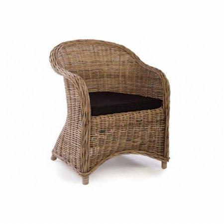 Water Hyacinth Rattan Tub Chair