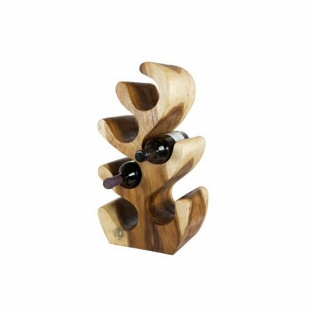 Accessories Sculptured Wine Rack