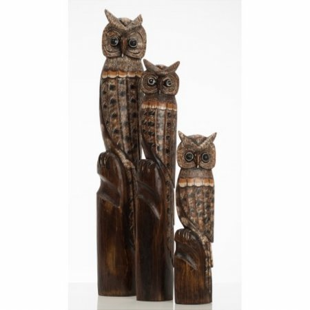 Accessories Set of Large Owls