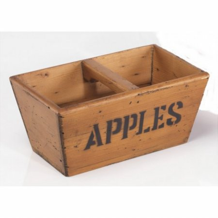 Vintage Small Wooden Apple Box