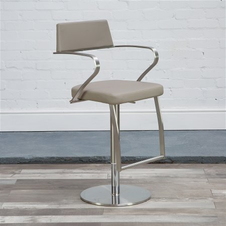 St Moritz Bar Stool in Taupe
