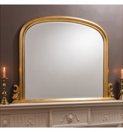 Mirror Thornby Gold Over Mantel
