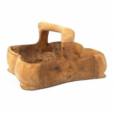 Tree Root Pot with Handle