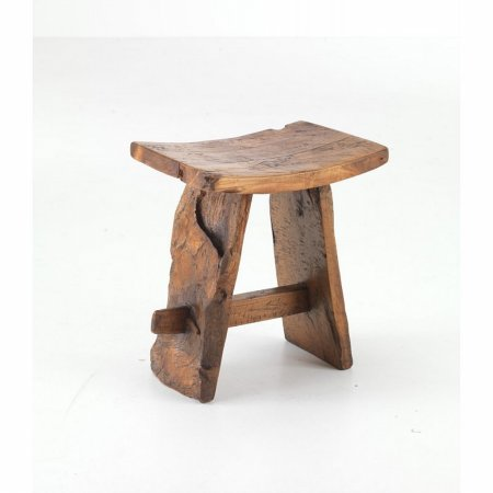 Tree Root Saddle Stool
