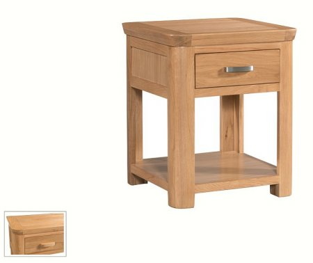 Treviso End Table with Drawer