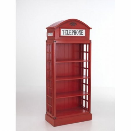 Vintage Telephone Bookcase