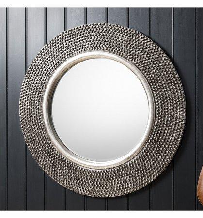 Mirror Whittington Pewter Round