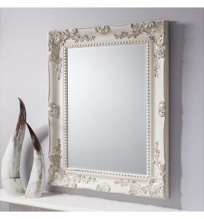 Mirror Winslet Vintage White Baroque