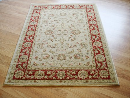 Ziegler 7709 Cream Red Rug