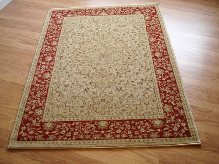 Ziegler 7709 Red Cream Rug