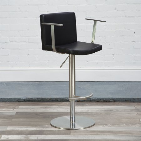 Zurich Bar Stool in Black