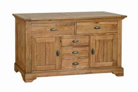 Vale Furnishers - Dining - Bretton Combi Sideboard. Click for larger image.