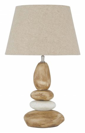 Vale Furnishers - Ocean Pebbles 685 Table Lamp. Click for larger image.