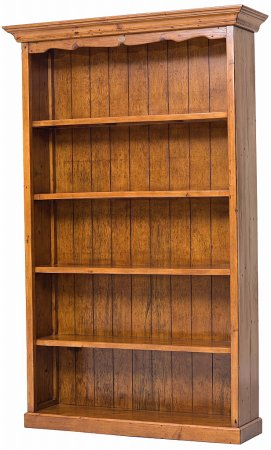 Vale Furnishers - Somerset Medium Bookcase. Click for larger image.