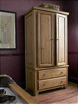 Carlton Furniture - Windermere 2 Door Gents Wardrobe
