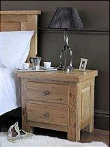 Carlton Furniture - Windermere 2 Drawer Bedside