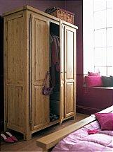 Carlton Furniture - Windermere 3 Door Full Hanging Wardrobe