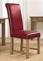 Carlton Furniture - Windermere Roll Back Leather Chair