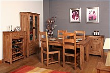 Carlton Furniture - Rustic Manor Dining