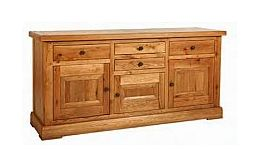 Carlton Furniture - Lyon 3 Door Sideboard
