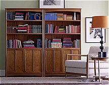2890/Nathan-Editions-Tall-Quadruple-Bookcase-with-Doors