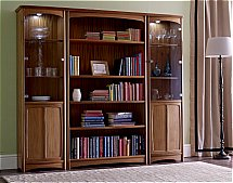 2891/Nathan-Editions-Tall-Single-Display-Cabinets-with-Bookcase