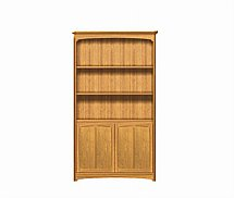 2897/Nathan-Editions-Tall-Double-Bookcase-with-Doors