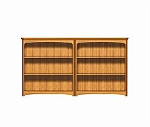 2899/Nathan-Editions-Mid-Quadruple-Bookcase