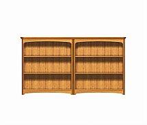 2899/Nathan-Editions-Mid-Quadruple-Bookcase