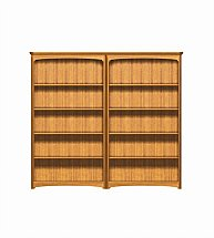 2902/Nathan-Editions-Tall-Quadruple-Bookcase-Combination-01