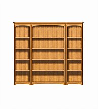 2903/Nathan-Editions-Tall-Quadruple-Bookcase-Combination-02