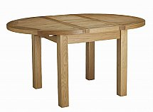Barrow Clark - Cotswold Round Ext Butterfly Table