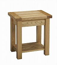 Barrow Clark - Cotswold Lamp Table with Shelf