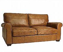 Barrow Clark - Smithfield 3 Seater Leather Sofa