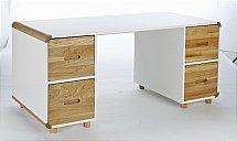 Stompa - Radius Double Pedestal Curve Desk