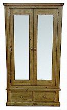 Barrow Clark - Gloucester Large Mirrored 2 Door Robe
