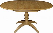 Old Charm - Cotswold Round Extending Dining Table