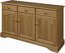 Old Charm - Cotswold 3 Door Sideboard