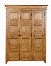 Barrow Clark - Oxford 3 Door Double Wardrobe